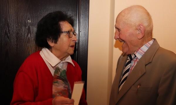 Ветеран от ВСВ празнува 100-годишен юбилей в Русе