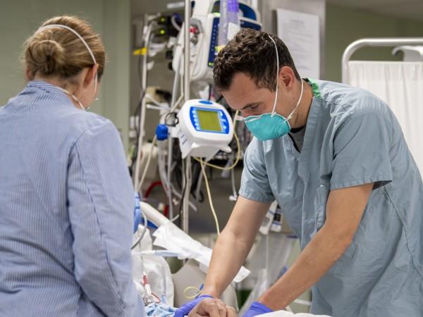 Смъртните случаи в САЩ от заболяването Covid-19, причинено от новия