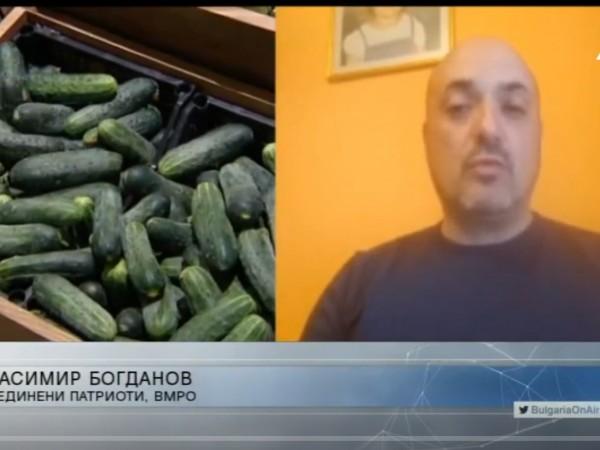 ВМРО иска забрана за внос на чужди продукти, когато е