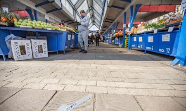Трима търговци на Женския пазар останаха без договори