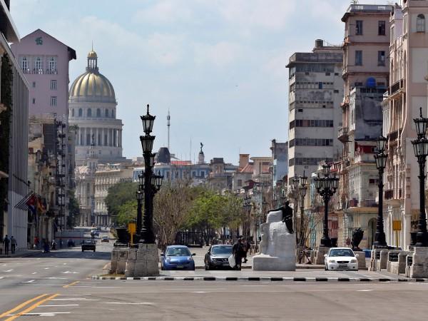 В нормално време в Куба могат да се видят туристи,