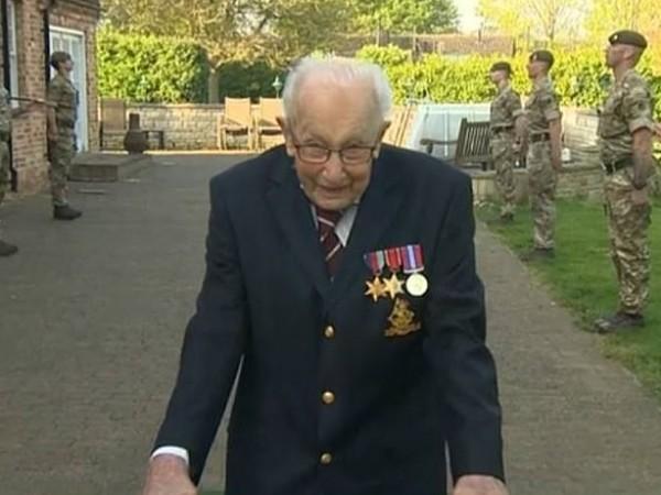 23 милиона паунда събра ветеранът от Втората световна война -
