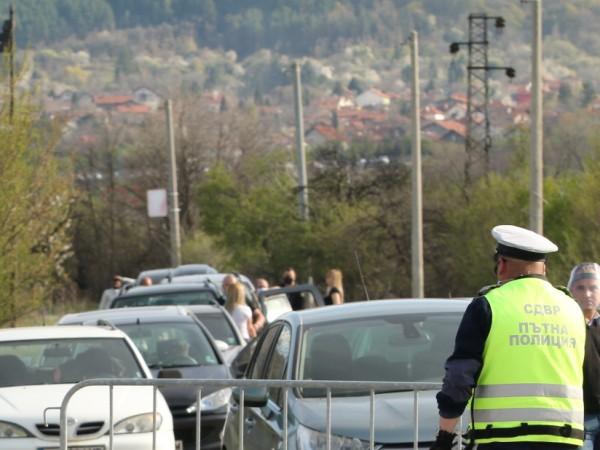 Двама души са задържани от полицията в София, след като