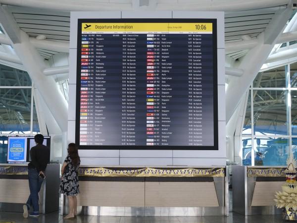 Индонезия временно забранява вътрешния и международен въздушен и морски трафик.