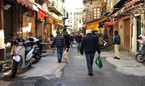 Дзен – кварталът на Палермо, унищожен от коронавируса и завладян от мафията