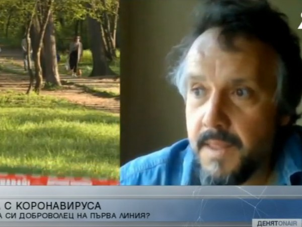 Писателят Калин Терзийски се записа като доброволец към Столичната община