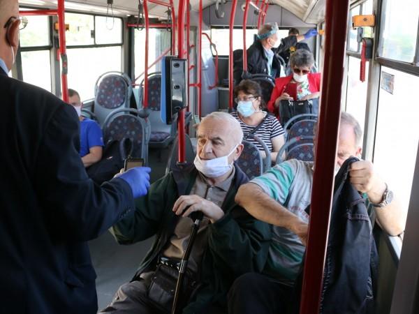 33-ма пътници отнесоха глоби вчера, защото се возили без предпазни