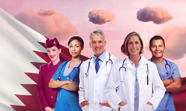 Qatar Airways подарява 100 000 безплатни билета на медиците