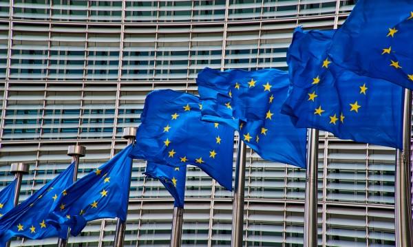 Затвор за публично изгаряне на флага на ЕС в Германия