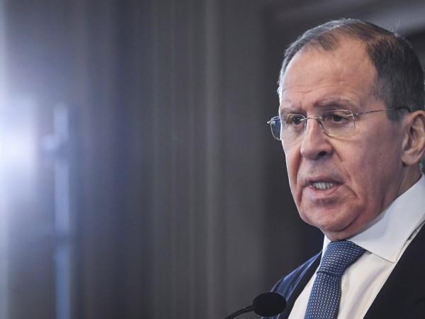 Външният министър на Русия Сергей Лавров отрече днес твърдения на