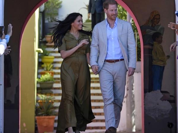 Принц Хари и Меган Маркъл позволиха да надникнем в дома
