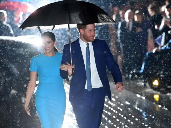 Принц Хари и Меган Маркъл отбелязаха 2-годишнина от сватбата си