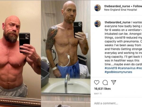 43-годишният Майк Шулц е медицинска сестра в Сан Франциско. Той