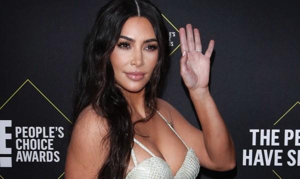 Ким Кардашиян - каубой по бельо