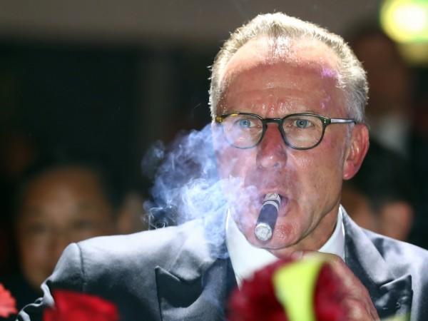 Изпълнителният директор на Байерн Мюнхен Карл-Хайнц Румениге е на мнение,