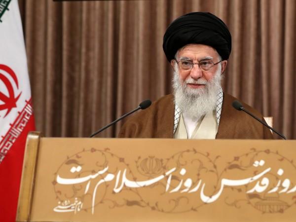 Върховният духовен водач на Иран аятолах Али Хаменей призова палестинците