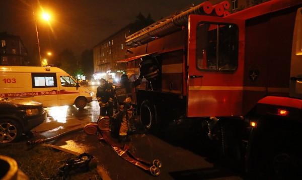 Пожар уби трима пациенти в руска болница