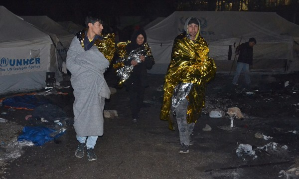 Конфликт между мигранти на о-в Лесбос завърши с убийство