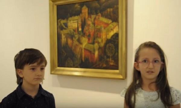 Трогателен поздрав за 24 май от децата на работещите в Националната галерия