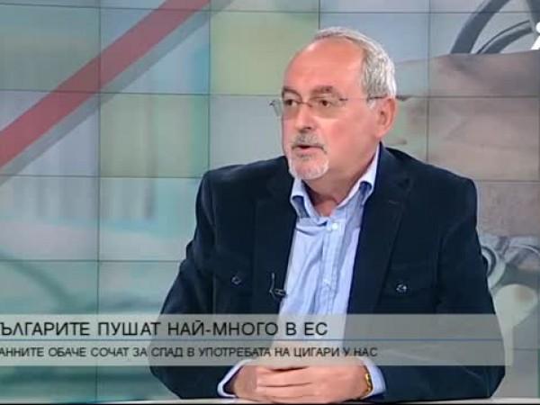 България продължава да бъде на водещите места по тютюнопушене в