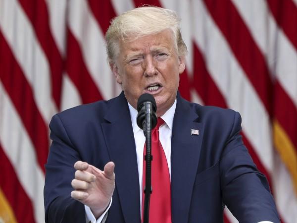 Американският президент Доналд Тръмп заяви вчера, че иска да изтегли
