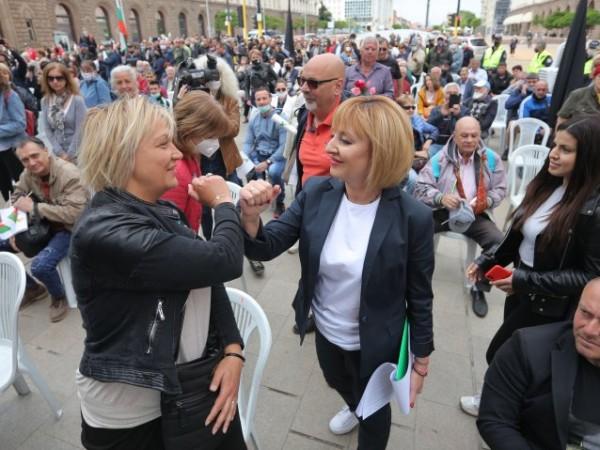 Бившият омбудсан Мая Манолова, която се кандидатира за кметна София