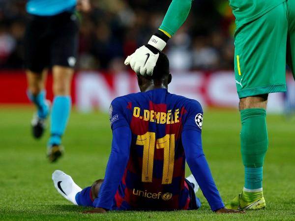 Ръководството на Барселона постави офанзивния полузащитник Осман Дембеле на сергията,