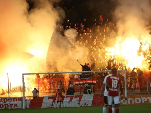 Както е известо, вчера част от най-изявените фенове на ЦСКА