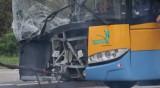 Верижна катастрофа между тролей и 6 коли в София