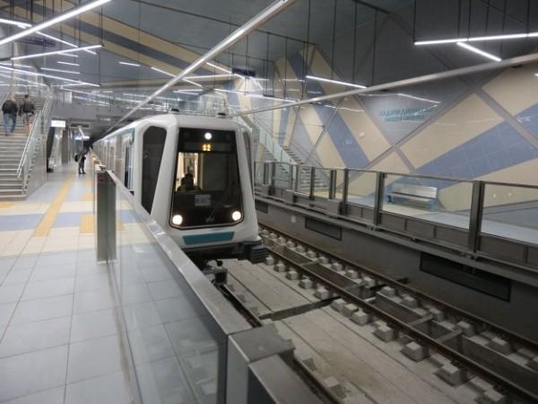 Третият лъч на метрото е завършен, в момента вървят изпитания