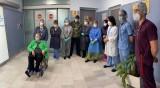 75-годишна пребори COVID-19 след 33 дни на апаратно дишане