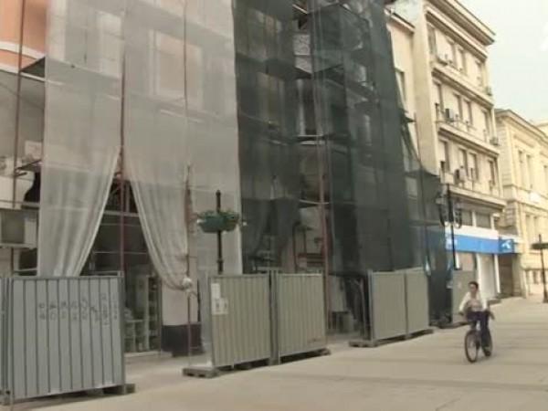 Паметник на културата в Русе се реставрира в нарушение. За