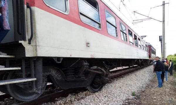 От първо лице за дерайлиралия влак край Каменец