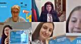 """Йотова награди победителките в инициативата """"Посланик за един ден"""""""
