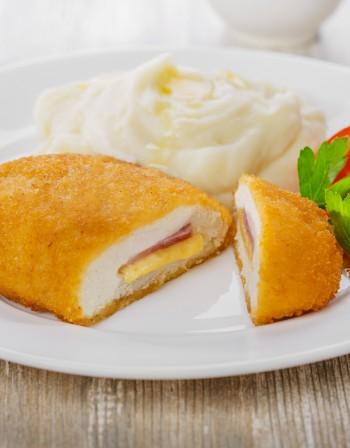 Рецептата Dnes: Пиле кордон бльо