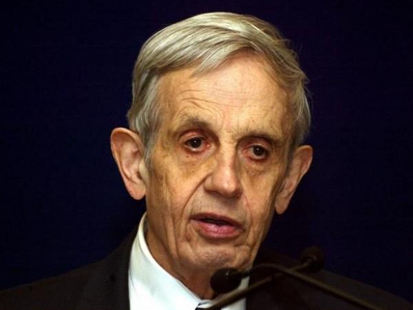 Джон Ф. Наш-младши, математик, спечелил Нобелова награда през 1994 година