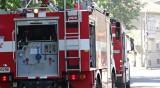 """Кола горя на бензиностанция в Ихтиман, жена е в """"Пирогов"""""""