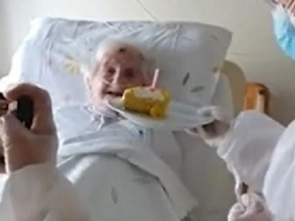 Лучия Ронда навърши 106 години на 22 април тази година.