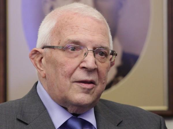 На 80-годишна възраст почина Цено Ценов, президент на Европейската федерация