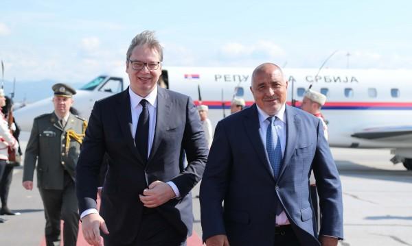 """Борисов и Вучич инспектират """"Балкански поток"""" и магистрала """"Европа"""""""