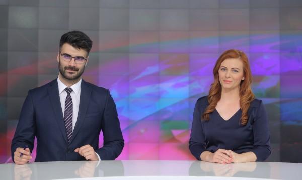 Десислава Атанасова и Константин Динчев са новата екранна двойка на Новините на Bulgaria ON AIR