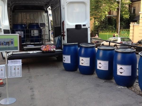 Мобилен събирателен пункт ще приема опасни битови отпадъци за столичните