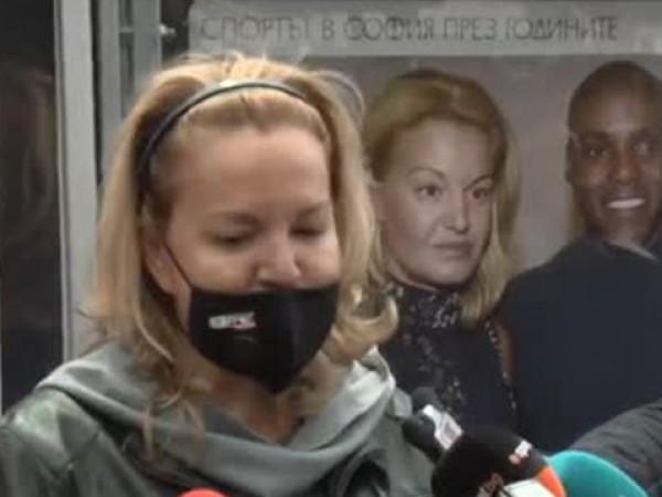 Председателят на Българския олимпийски комитет Стефка Костадинова коментира отлагането на