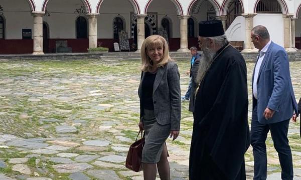 До седмица започва ремонтът на срутищата по пътя за Рилския манастир