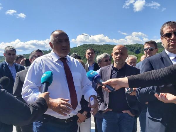 Премиерът Бойко Борисов напомни, че цената на природния газ е