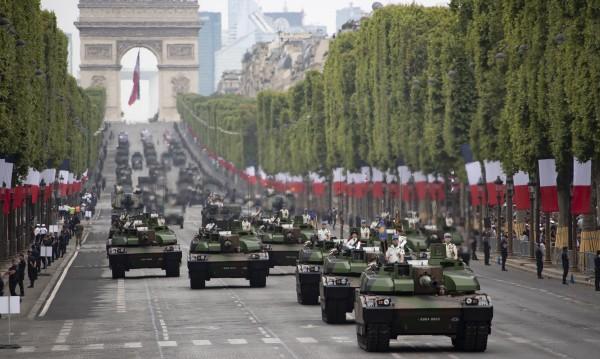 Франция отменя парада за 14 юли