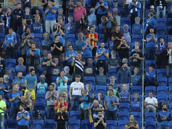 Феновете на Левски са останали доволни от показаното от футболистите