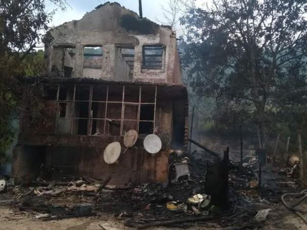 Днешният пожар, при който край Шумен загинаха две малки деца,