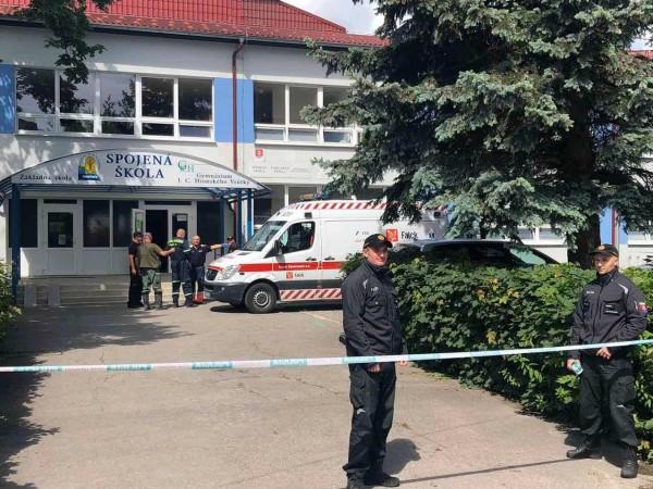 Полицията на Словакия съобщи, че е застреляла мъж, който нападнал