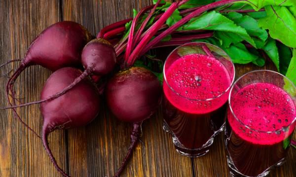 Пийте сок от червено цвекло при високи кръвно налягане и кръвна захар